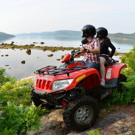 Fjord Saguenay Québec Quad