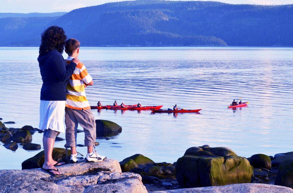 Kayak de mer Saguenay